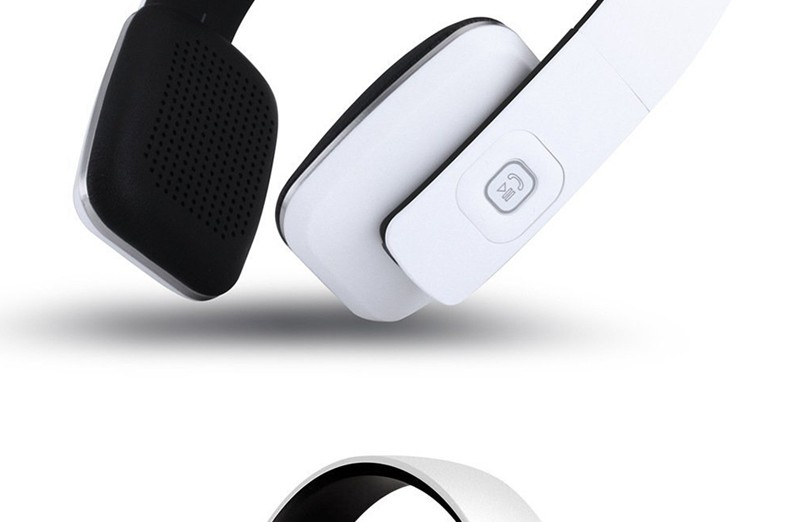 Simple Style Headset BOAS LC-8600 Solid Color Wireless Bluetooth 4.1 Stereo Over Earphone Headphone Computer Headphone With Mic