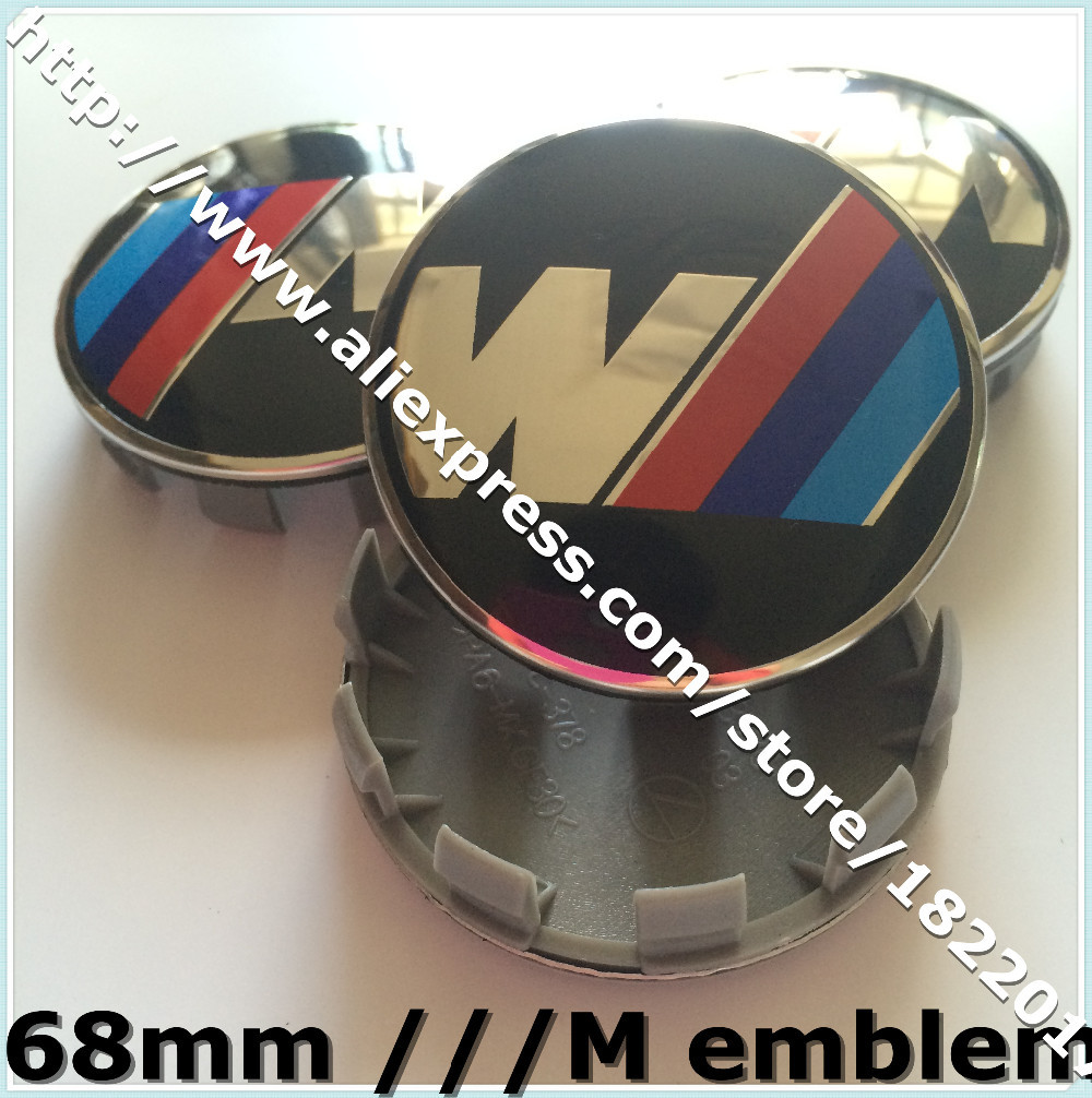Hot selling 40pcs/lot 68mm ///M Wheel Center Hub caps Emblem Badge with 10pins for Auto Car M3 M5 X1 X3 X5 1 3 5 Z3 Z4(China (Mainland))