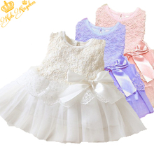 Hot! Retail 1pcs  girls dresses summer 2015 princess dress white baby dress lace cute dress(China (Mainland))