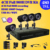 CCTV system 4ch full 960h D1 real time recording dvr 4pcs IR waterproof security camera system dvr kit 1TB HDD + Free Shipping