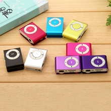 High Quality MP3 Player Metal Mini Clip Music Players with Micro TF SD card Slot MP3 (TF Card not included) free Music Download(China (Mainland))