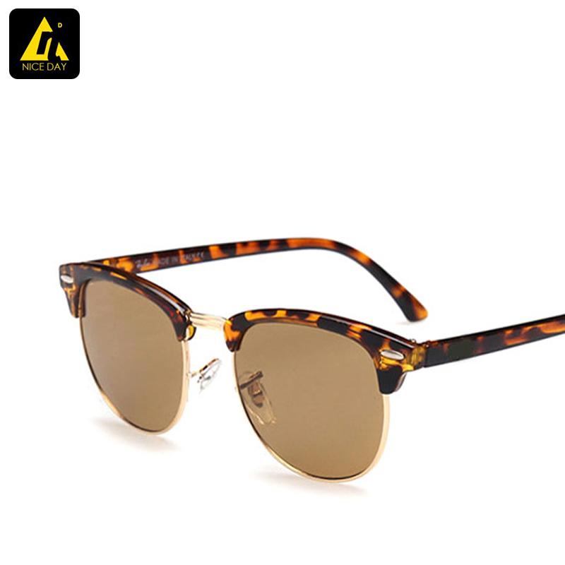 Fashion clubmaster Sunglasses mens Classic Retro brand designer sun Glasses for women wayfarer outdoors oculos de sol feminino(China (Mainland))