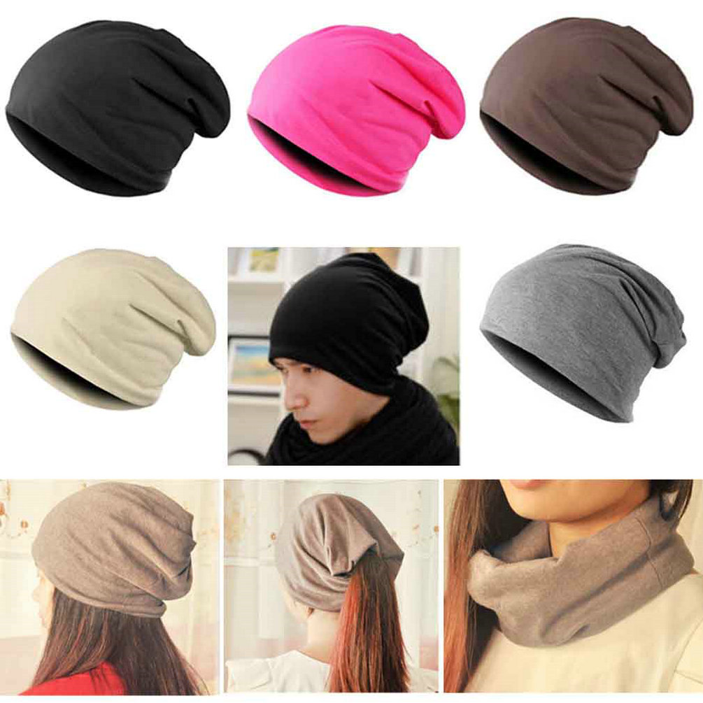 New Fashion Men Women Beanie Top Quality Solid Color Hip-hop Slouch Unisex Knitted Cap Winter Hat Beanies Dark Blue Gorros(China (Mainland))