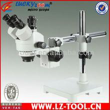 Envío gratis! 7X ~ 45X Digital trinocular Usb microscopio estéreo del zumbido 56 unids llevó microscopio + 5 M de la cámara