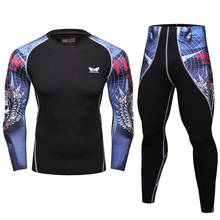Buy Mens Compression Shirts Bodybuilding Skin Tight Long Sleeves Jerseys Clothings MMA Crossfit Exercise Workout Fitness Sportswear for $8.80 in AliExpress store