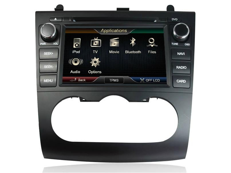 Roadrover(R) Car DVD GPS Radio RDS iPod Bluetooth A2DP Car Audio for Nissan Altima(China (Mainland))