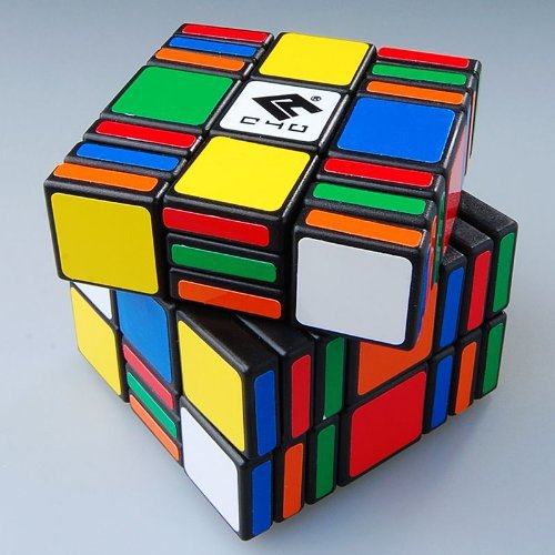 Гаджет  C4U 3x3x7 C4U Magic Cube Black Hot Selling None Игрушки и Хобби