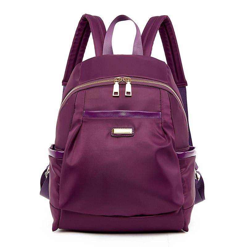 New 2016 Women Backpack Waterproof Oxford Color Rucksack Ladies School Bag Female Casual Back Packs Sport Travel Hiking Bags Sac(China (Mainland))