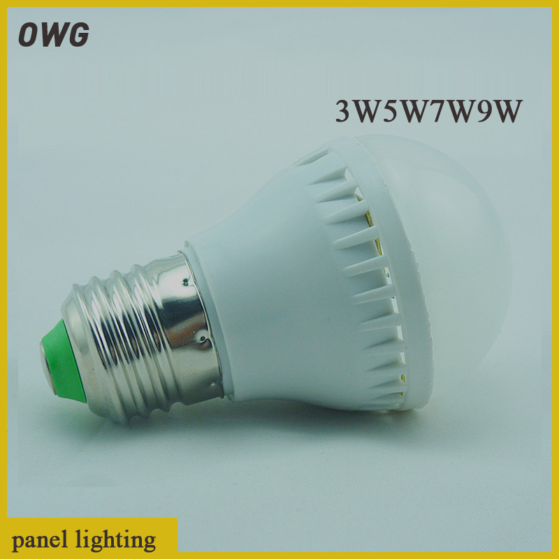 1 E27 B22 Led Light Bulb 3W 5W 7W 9W LED Lamp, 220v 240V Cold Warm White Spotlight - ZEROGEM Lighting Co., LTD store