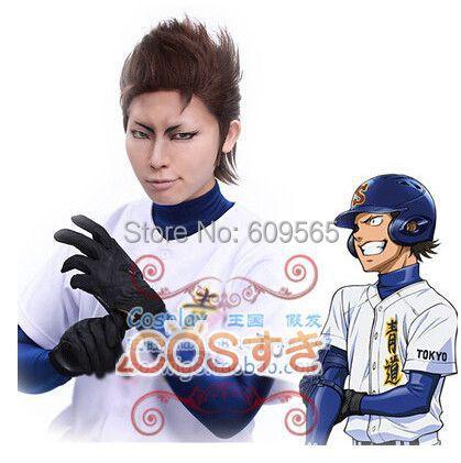 Free Shipping!Ace of Diamond Daiya no A Eijun Sawamura Satoru Furuya Haruichi Kominat wig<br><br>Aliexpress