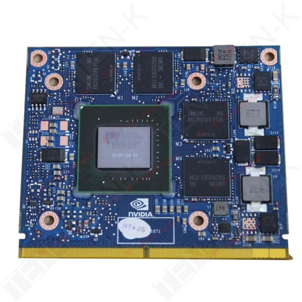 NVIDIA Quadro K2100M VGA GDDR5 2GB 2252MHz Laptop VGA Graphics Card for 16F3 16F4 1762 1763 151SM 150SM 157SM 177SM M4700 M4800(China (Mainland))