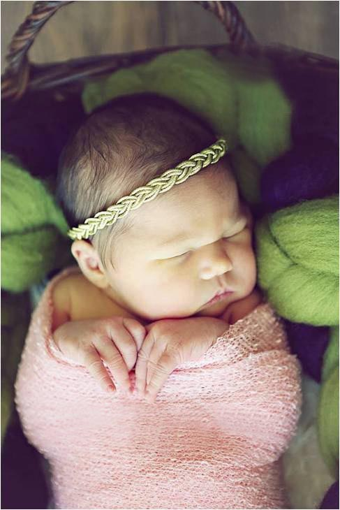 New Baby Girl Gold Halo Turban Headband for Hair Accessories Newborn Bandana Headband Infant Baby Girls Head wraps 1pc(China (Mainland))