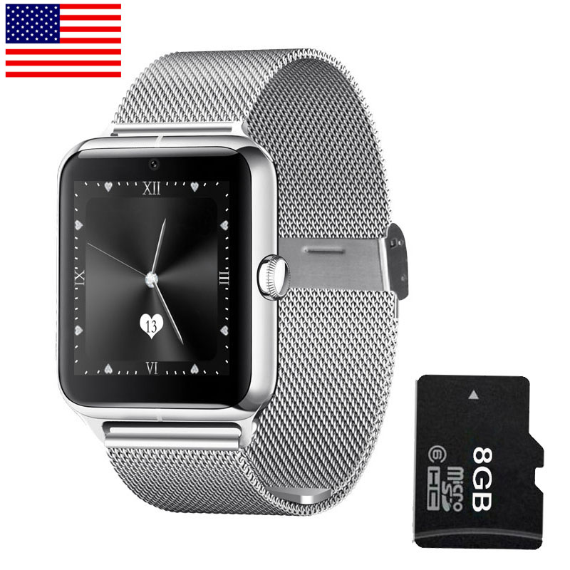 Metal Bluetooth Smart Watch Phone LF11 Wristwatch Heart Rate Tester Phone Call Reminder for IOS Android smartphone(China (Mainland))