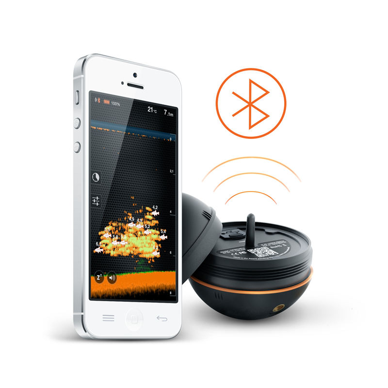 2015 deeper fishfinder smart portable wireless bluetooth