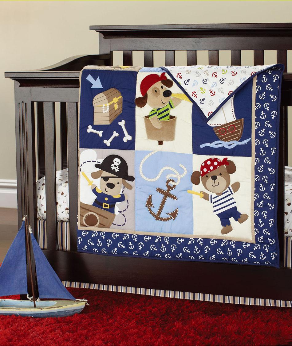 Baby Pirate Crib Bedding
