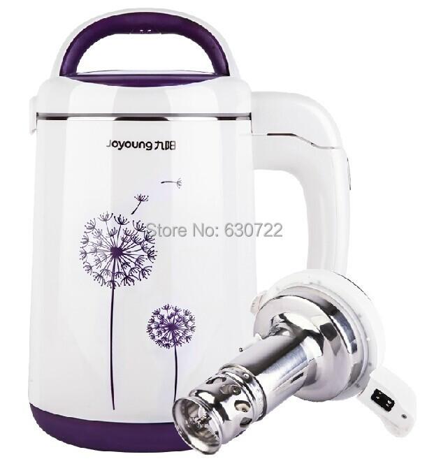 Joyoung DJ13B-C631SG Juice Extractor Soymilk Maker 304 stainless steel automatic soybean milk machine purple 1.1-1.3L 1000w - Dani Store store