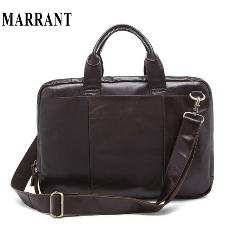 Фотография Genuine Leather Men Bags Handbag casual Men