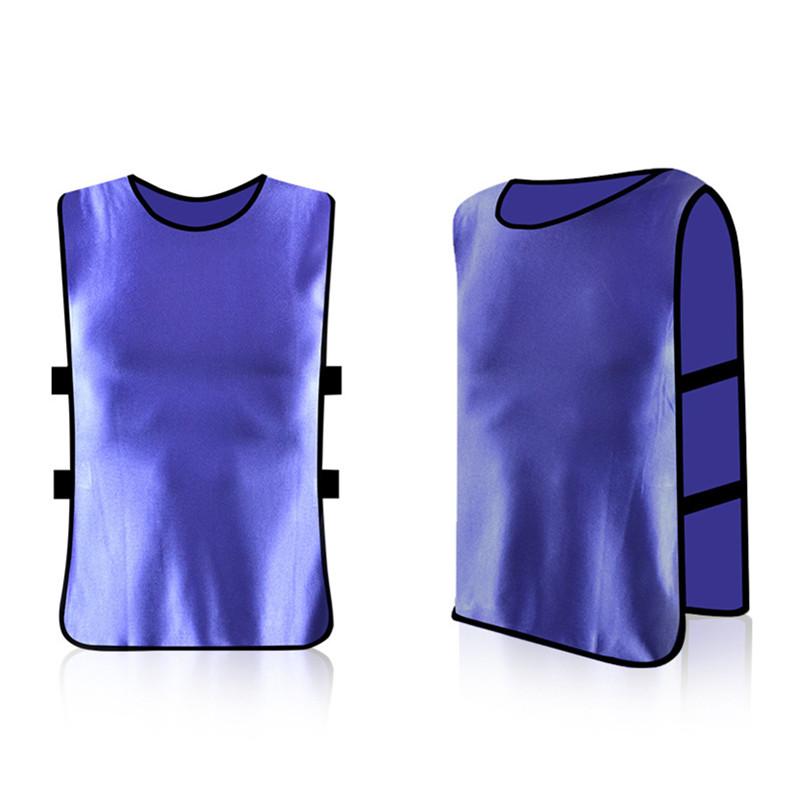 13 Color 2012 2017 Team Soccer Jersey Vest Men's Football Basketball Training Shirt Plus Size Sleeveless For Men Sports(China (Mainland))