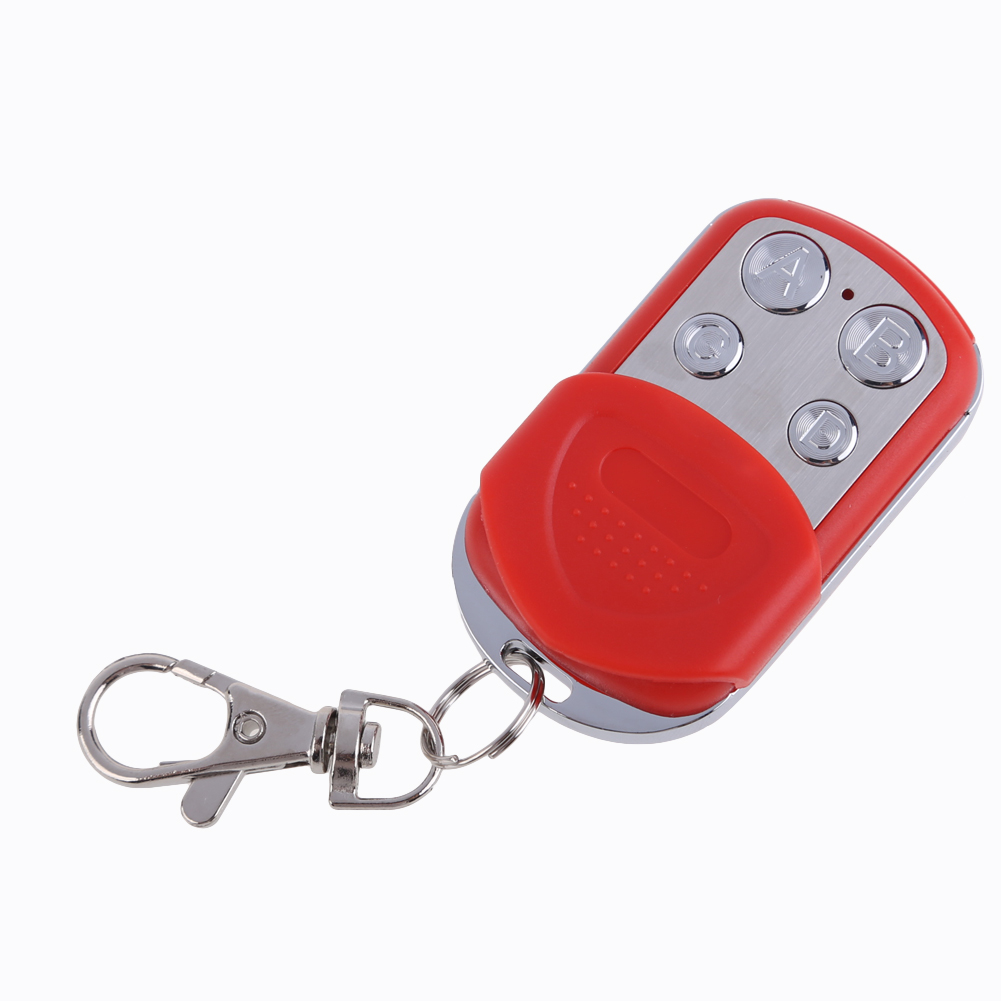 High Quality 433MHz EV1527 12V 4Keys ASK Metal Wireless Remote Control Learning Code Free Shipping NI5L(China (Mainland))