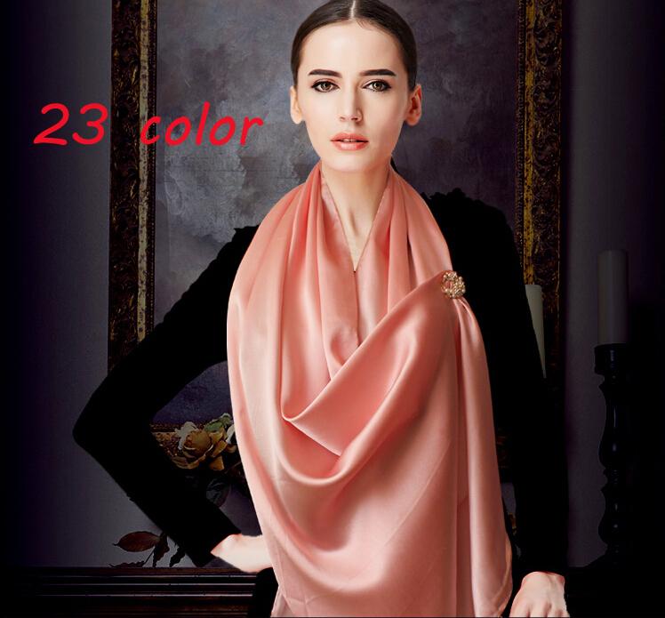 2015 MORE COLOR satin silk printe solid color shawls long plain polyester popular head muslim scarves/scarf 10pcs/lot 180*90CM(China (Mainland))