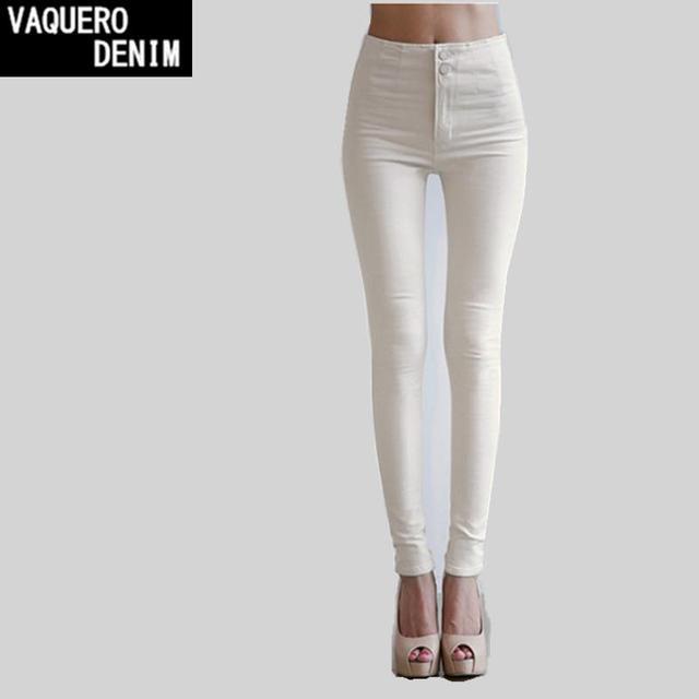 Высокой талией джинсы женщина 2016 специальное предложение американский одежды , ...
