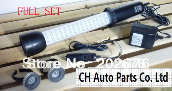 60+21LED NI-CD HIGH BRIGHTNESS TENT LIGHT/ CAMPING LIGHT / WORKING LIGHT/CAR MAINTAIN LIGHT, WITH RECHARGEABLE BATTERY MAGNET<br>