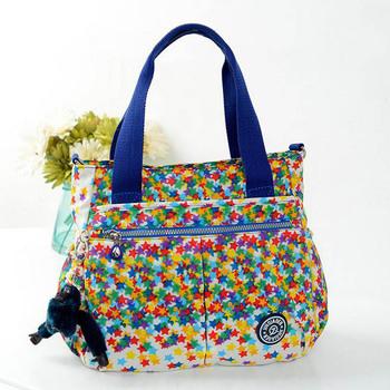 HOT!! new kippls Handbags 2015 shoulder bags Women nylon Monkey Travel Messenger Bag kiples Bag Bolsa feminina free shipping