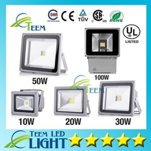 Buy DHL CE ROHS UL Outdoor Led Flood Light 10W 20W 30W 50W 100W Waterproof IP65 85-265V Led Floodlights lighting Led Garden Lamp for $39.50 in AliExpress store