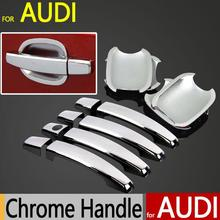 Buy Audi A4 B8 Q3 Q5 Accessories Chrome Door Handle Cover 2009 2010 2011 2012 2013 2014 2015 Car Styling Car Handle Stickers for $16.80 in AliExpress store