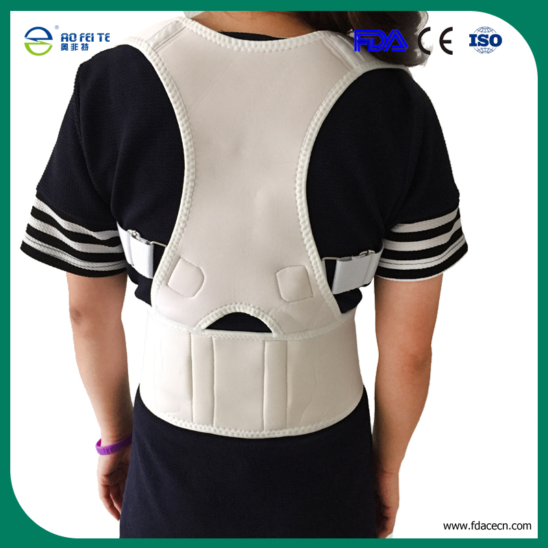Adjustable Orthopedic Belt For The Back Unisex Exercise Back Support Best Care Posture Corrector(China (Mainland))