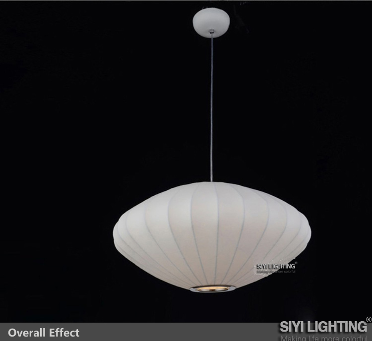 George Nelson Bubble saucer lamp lantern flat pendant light Home Lighting D30/ 50/ 65CM(China (Mainland))