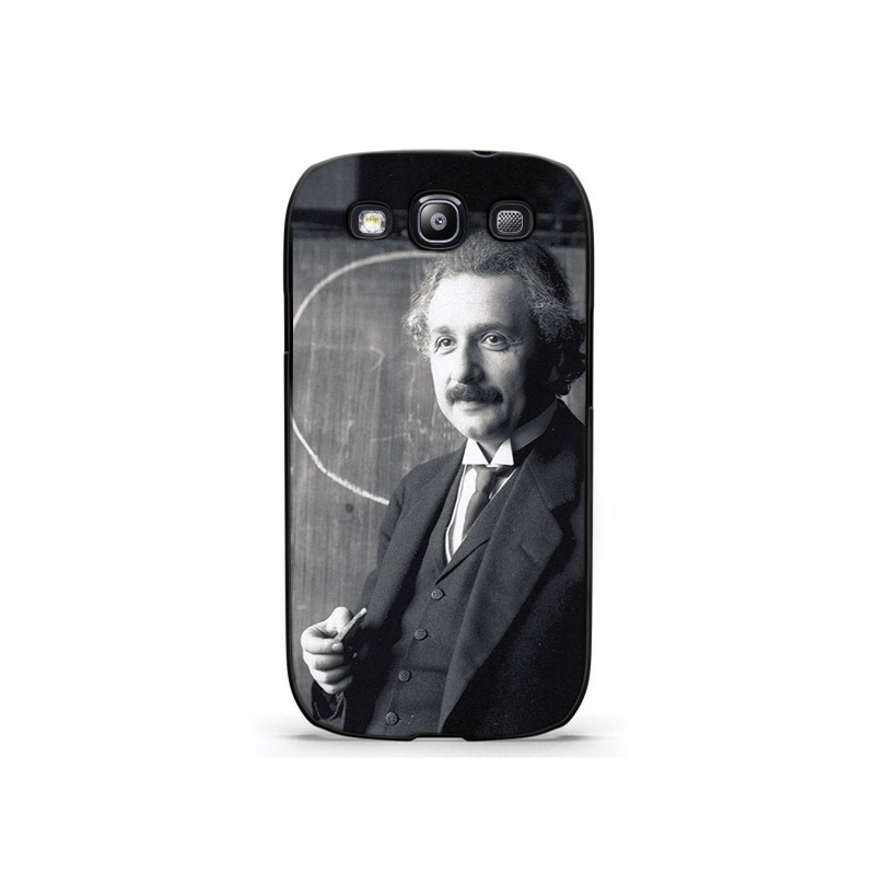 Albert Einstein Wallpaper Plastic Protective Shell Skin Bag Case For Galaxy S3 s3mini s5 s4mini Cases Hard Back Cover(China (Mainland))