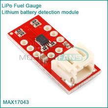 LiPo Fuel Gauge Lithium battery detection module A/D conversion IIC MAX17043