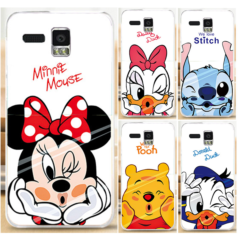 Painted Case Hood For Lenovo A806 A8 A808T Donald Duck Mickey Mouse Cool Cartoon Mobile Phone Case Cover Shell Fundas(China (Mainland))