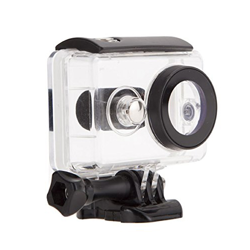 40m Underwater Diving Sports Box Waterproof Protective Housing Case For Xiaomi Yi Xiaoyi Action Camera Black