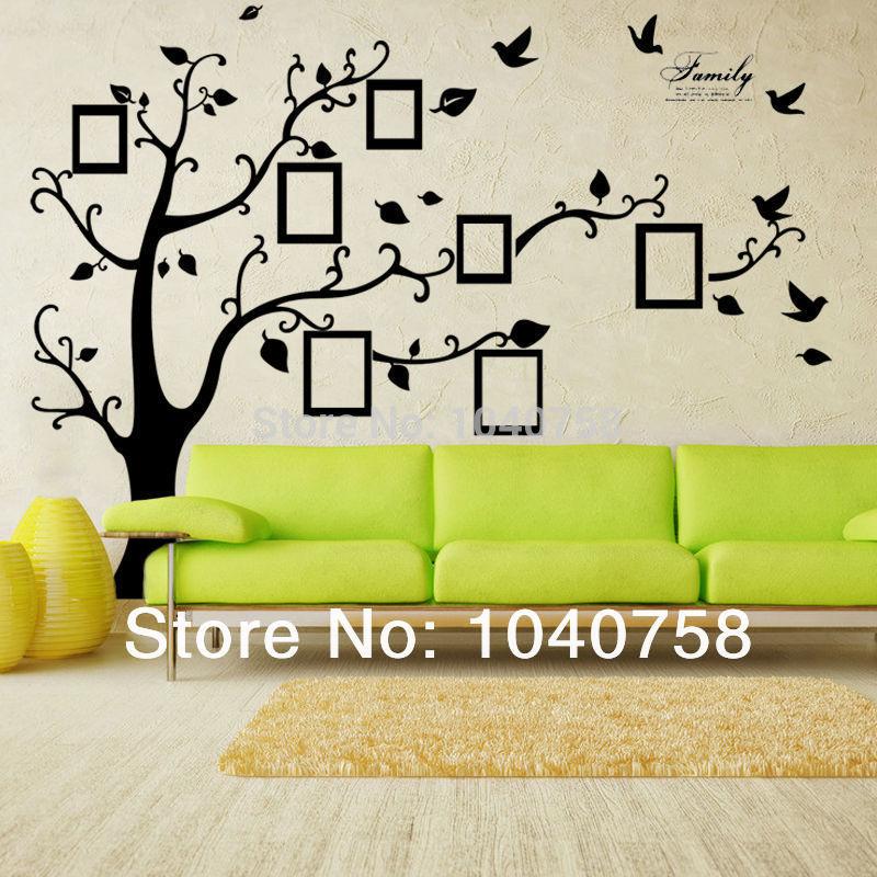 X grande chambre cadre Photo décoration arbre généalogique