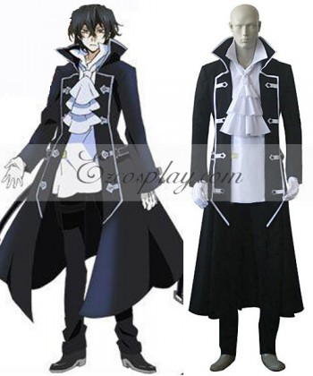E002 Pandora Hearts Gilbert (Raven) Cosplay Costume(China (Mainland))