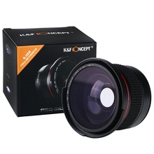 Buy K&F Concept HD 0.35x 58mm Super Fisheye Wide Angle Macro Lens Canon DSLR Cameras EOS 700D 650D 600D Rebel T5i T4i T3i Camera for $25.49 in AliExpress store
