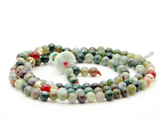 Wholesale buddhist 108 beads religeous colorful natural for Exquisite stone
