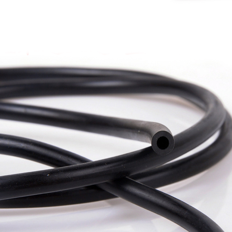 4mm x 7mm Black epdm rubber auto wipers water pipe water spray nozzle connecting tube rubber hose for car(China (Mainland))