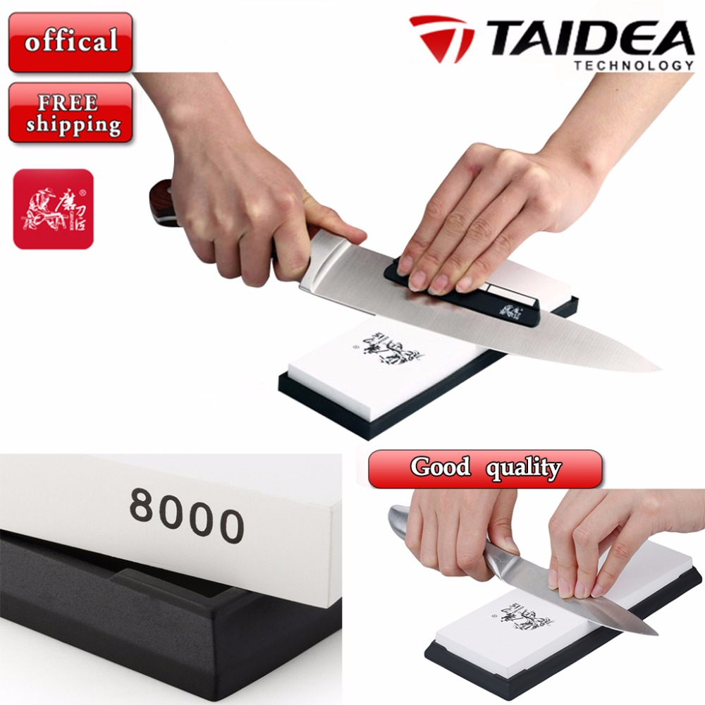 Taidea 8000 Grit Knife Sharpener Corundum Whetstone Sharpening Stone Tool Professional High-grade Grinding Stone(China (Mainland))
