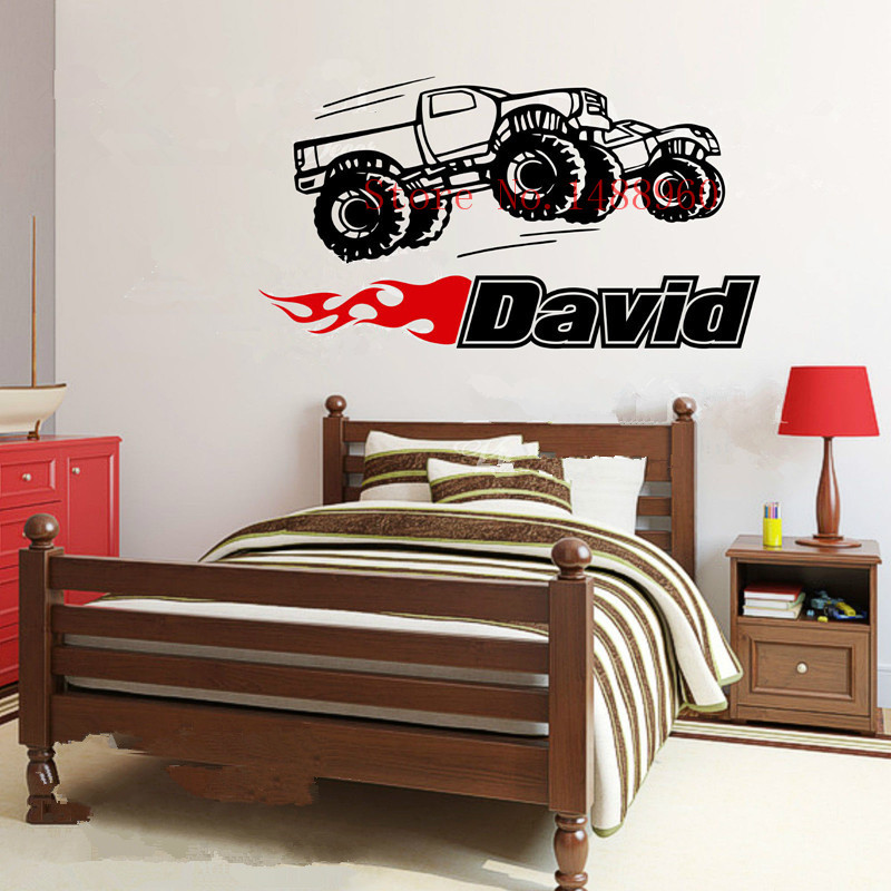 E571 wall stickers home decor diy poster decal mural for Diy car interior decor