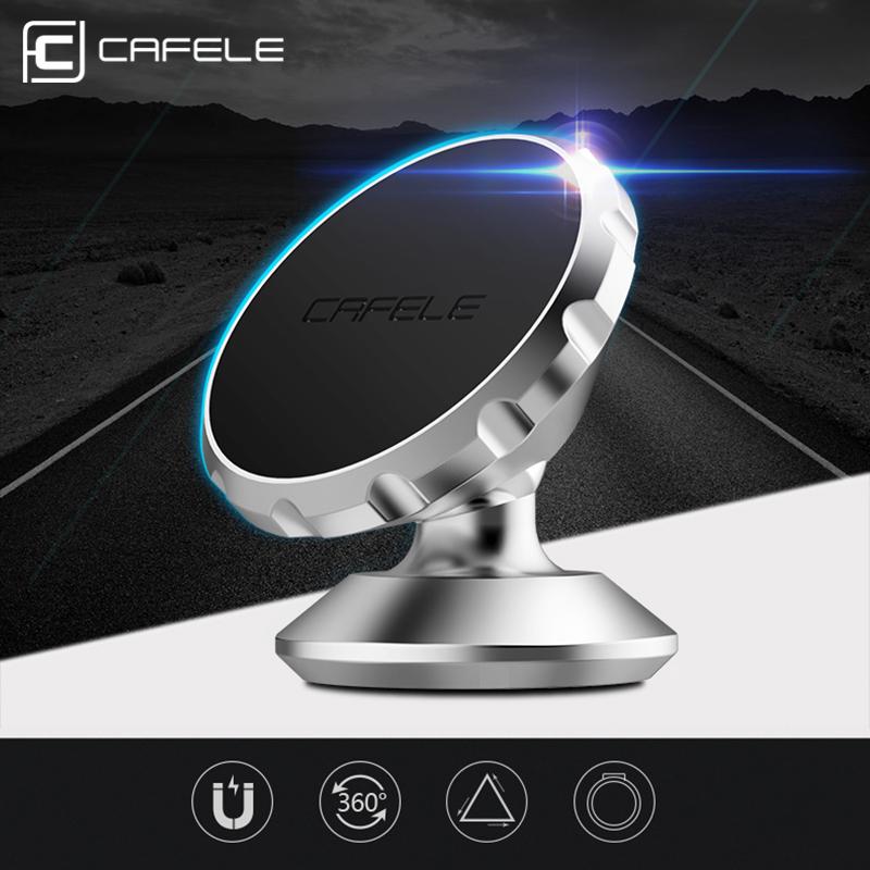 NEW CAFELE original Universal Magnetic Phone Car GPS Holder 360 Rotation Magnet mount Holder For iPhone Samsung Smart Phone(China (Mainland))