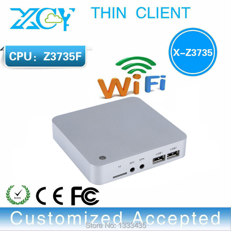 lowest preice intel Z3735F 2g ram 32g ssd mini computer desktop pc industrial support win 8.1 system thin client mini pc(China (Mainland))