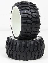 Buy BAJA 5B high-strength nylon wheels gravel tire rear tire assembly 95211 for $75.00 in AliExpress store
