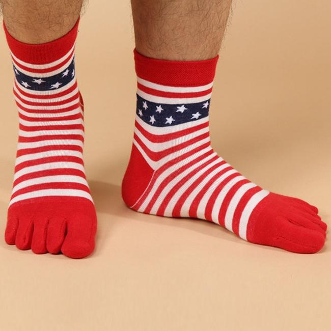 1 Pair Men Five Finger Toe Shoes Hot sale Men s Socks Pure Cotton Sports Five
