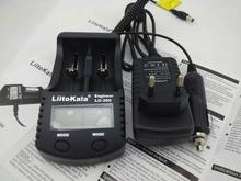 Liitokala lii300 LCD Cargador de 3.7 V 18650 26650 18500 Baterías De Litio Cilíndricas, tales como 1.2 V AA AAA NiMH Cargador de Batería