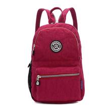 Buy JINQIAOER Brand Drawstring Backpack Large Women Nylon Backpack Rucksack Waterproof Student Schoolbag Shoulderbag Pack Mochila for $13.69 in AliExpress store