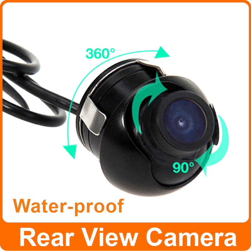 170 Degree Wide View Mini Waterproof Auto Rearview CCD Camera Car Rear View Camera Backup Parking System(China (Mainland))