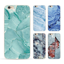 2016 Special Offer Phone Cases For Iphone 6 6s Case Marble Stone Image Painted Cover Mobile Bags & Brand New Screen Protector